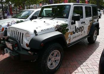 Jeep Wrangler Vinyl Wrap 2021